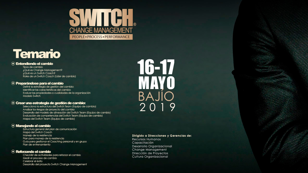 SWITCH Change Management Certificación
